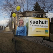 Edmonton Election Sign